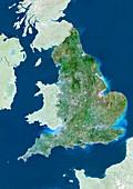 England,UK,satellite image