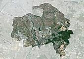 Val-de-Marne,France,satellite image