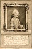 Jerome de Lalande,French astronomer
