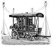 Petrol-powered electric lights,1897