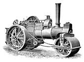 Burrell steamroller,1897