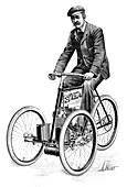 Gladiator petrol tricycle,1897