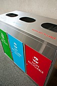 Recycling bins in Cape Town