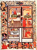 Page from The Canon of Medicine