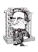 Charles Babbage,caricature