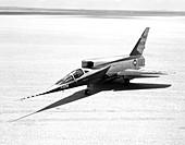 F-107A airplane,NASA testing,1959