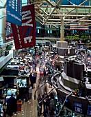 New York Stock Exchange trading,1980s