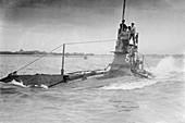 HMS A5,Royal Nay submarine,1910s