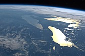 The Great Lakes,ISS image