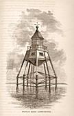 Maplin Sands lighthouse,1875