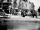 Berlin street traffic,1913