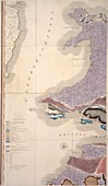 First geological map of Britain,1815