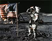 Eugene Cernan,Apollo 17,1972