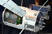 ATV resupply spacecraft,exhibit model