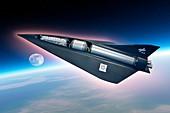 SpaceLiner transport,artwork
