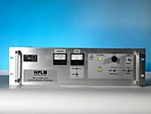 Helium-neon laser controls