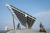 Solar panels and electric bikes