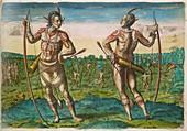 Native American chiefs,16th century