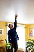 Installing a smoke alarm