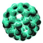 Buckminsterfullerene molecule