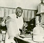 George W. Carver,US agriculturalist
