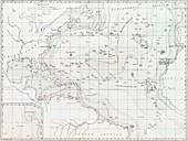 Basin of the North Atlantic Ocean,1854