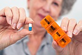 Daily pill box