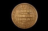 Merchant's token,19th century