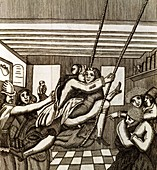 Sex swing,17th century artwork