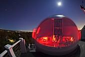 Mario Motta's amateur observatory,USA