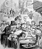 First London oysters,historical artwork