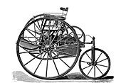 Early electric tricycle,1881