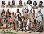 Ethnic groups of Africa,1880s