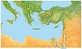 Eastern Mediterranean,artwork