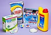 Biological dishwasher detergents