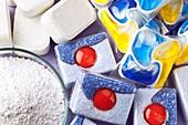 Biological dish washer detergents
