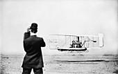 Wright Model A aircraft flight,1909