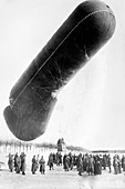 German observation balloon,World War I