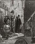 Rabelais's Panurge consults Herr Trippa