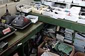 Electronic waste recycling