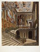 Grand Stair Case,Hampton Court