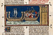 Crusaders attack Damietta