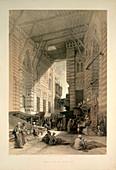 Bazaar of the silk mercers