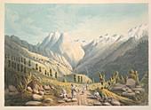 View from the Kala Mandi Pass