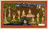 Visvamitra's penance