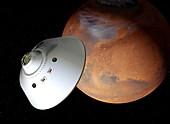 Mars sample return mission,artwork