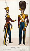 British army uniforms