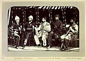Group portrait of dignitaries