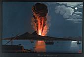 Eruption of Mt. Vesuvius,1794
