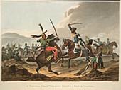 Cavalry fighting
